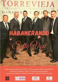 """Sette Voci """"Habanerando"""" @ Palacio de la Música"""