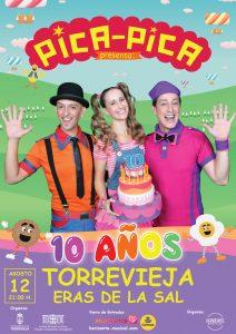 "Espectáculo infantil ""Pica Pica Torrevieja"" @ Eras de la Sal"