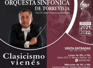 """Orquesta Sinfónica de Torrevieja """" Clasicismo Vienés"""" @ Auditorio Internacional"""