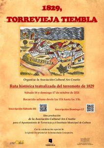 """""""1829, Torrevieja tiembla"""" @ centro ciudad"""